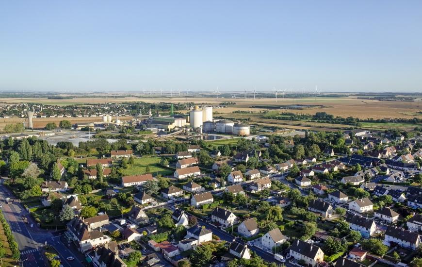 Photographies aériennes de Cagny