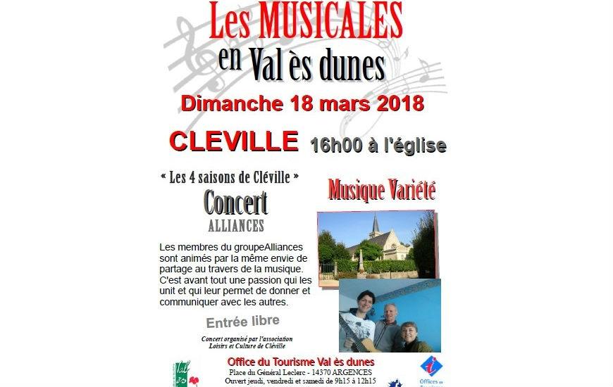Musicales en Val ès dunes 18 mars