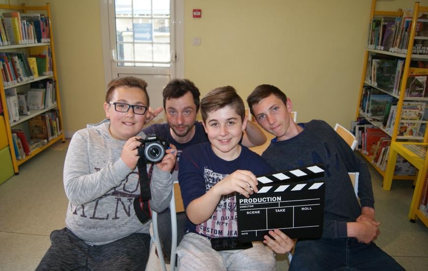 De jeunes acteurs