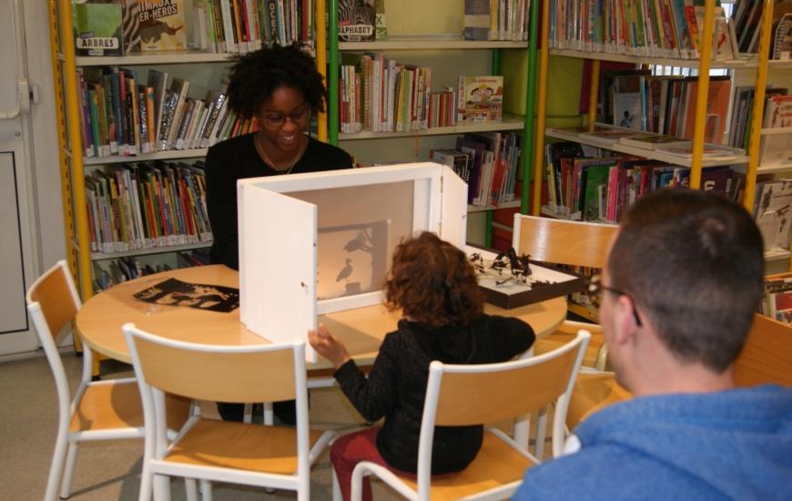 Nuit de la lecture à la bibliothèque