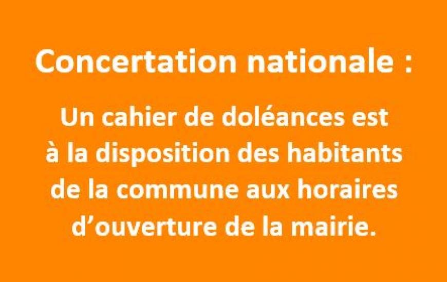 Concertation nationale