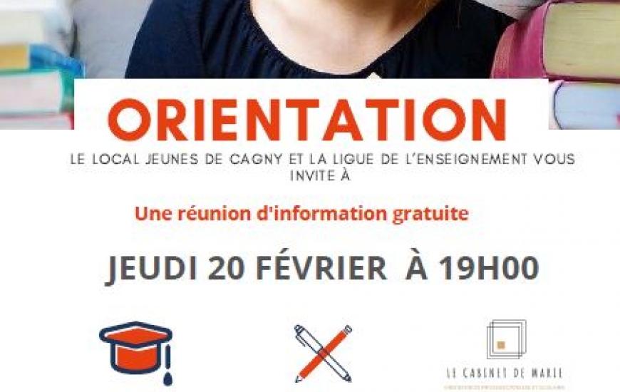 Réunion orientation