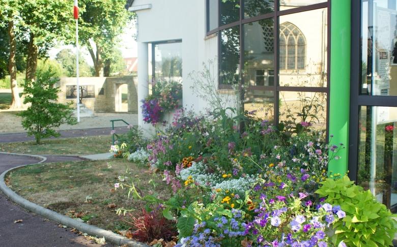 Fleurissement mairie