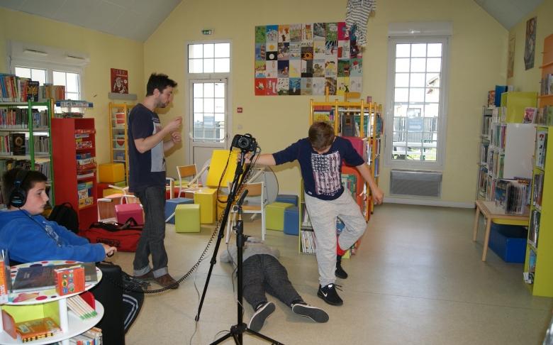 Réalisation d'un film espace loisirs, local jeunes