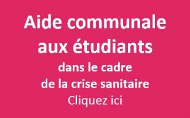 Aide communale aux étudiants