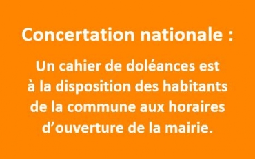 Concertation nationale