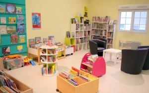 La bibliothèque de Cagny