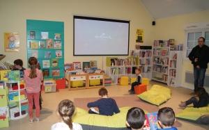 Cinéma à la bibliothèque