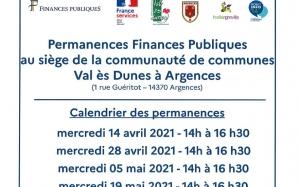 Permanences finances publiques