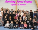 Twirling sport Cagny